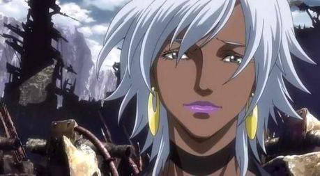 I think the X-Men anime was the worst portrayal of Storm ever! It has her pass out after only slingin