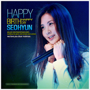 7 plus days to Seohyun's Birthday.. if toi are give a chance to give her some presents, what will toi