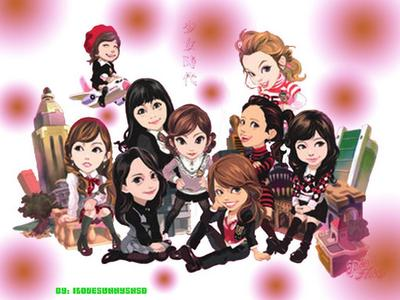 Hello everyone , Its Soshi CartooN Game! Rules&Awards . every one post max 3pic(cartoon ver) 4 any S