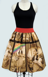 I came across this cute Wizard of Oz women's dress in 1950s koktel style from etsy http://www.etsy.