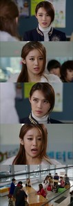 On the latest episode of KBS's Dream High 2 that aired on January 31st, there was a scene in which