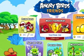 In a surprise update, Angry Birds friends (aka, Angry Birds Facebook) has released a new episode for