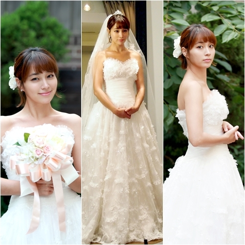 Lee Min Jung Looking Beautiful In Her Wedding Dress For