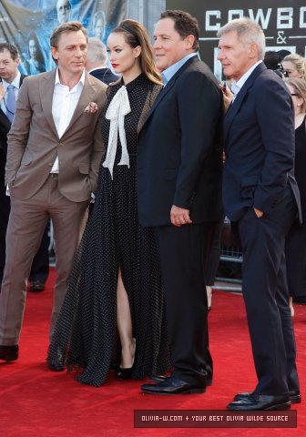 'Cowboys and Aliens' Londres Premiere [August 11, 2011]