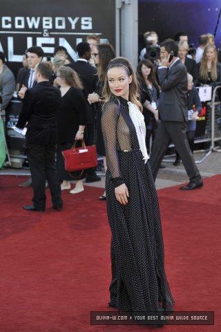 'Cowboys and Aliens' London Premiere [August 11, 2011]
