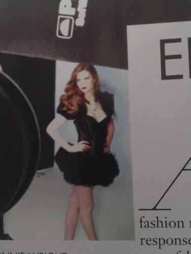 2011: Haute म्यूज़् magazine