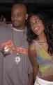 Aaliyah and Damon at the premiere of the' Planet of the Apes' movie