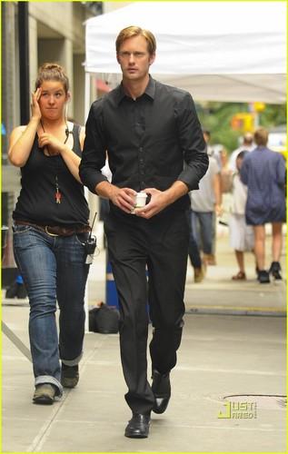 Alexander Skarsgard: 'Maisie' Monday