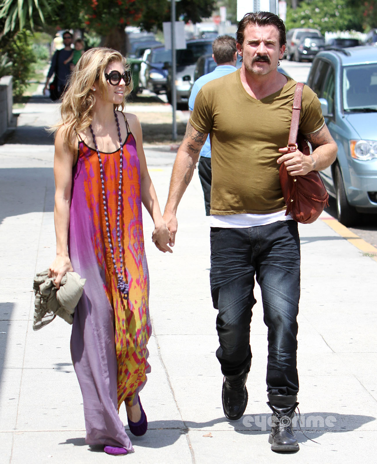 Dominic Purcell And Annalynne Mccord McCord and Dominic Purcell
