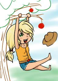 applejack as a human