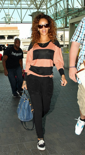 Arriving At LAX Airport In Los Angeles, 13 08 2011