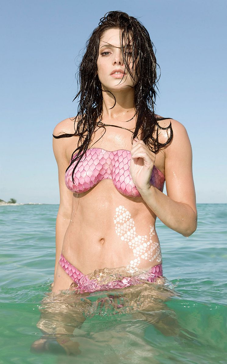 ashley greene body painting   body painting photo 24567357   fanpop