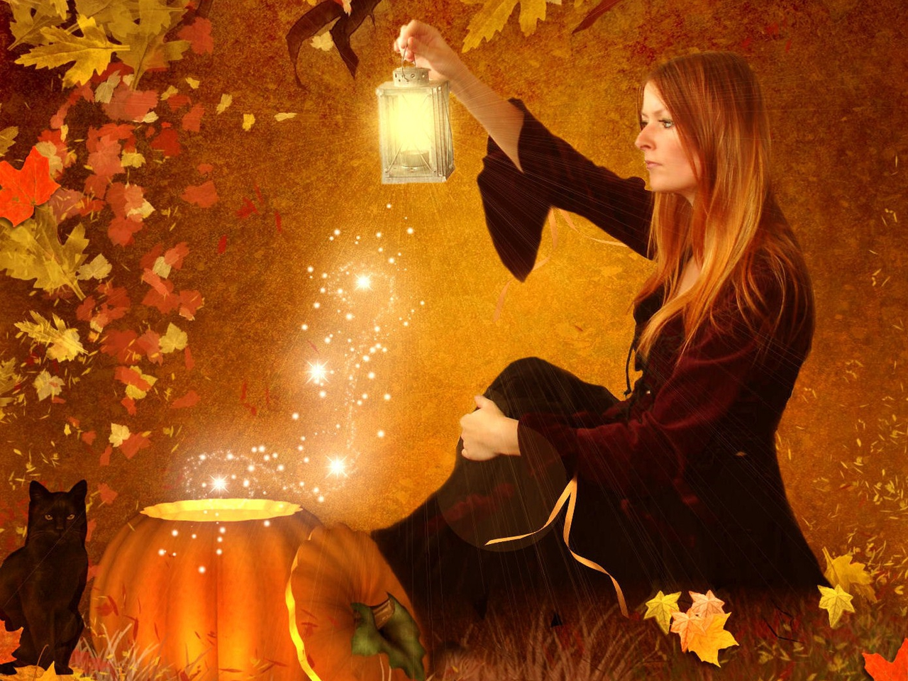 Buy Harvest Fall wallpaper picture trends