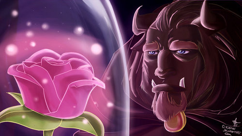 Beast and the rose