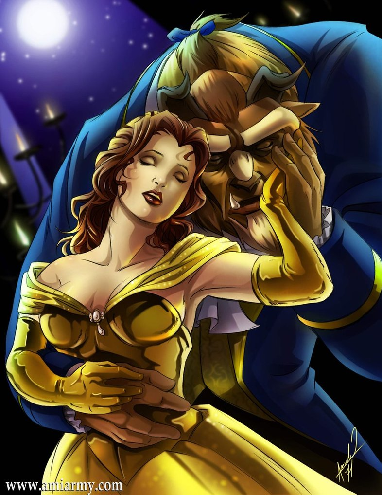 Belle and The Beast - Beast Fan Art (24571466) - Fanpop