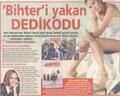 Beren Saat in a magazine - beren-saat wallpaper