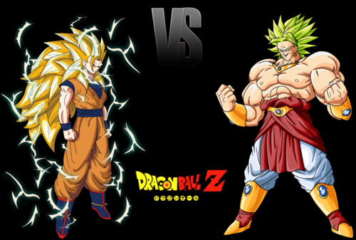 dbz rampage wallpaper with anime called Broly  V  Goku