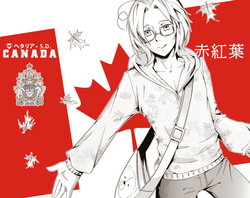 Hetalia wallpaper with anime called Canadian Flag