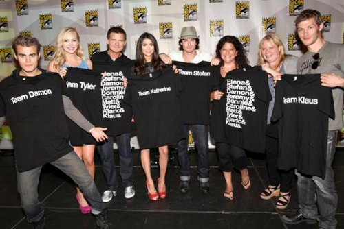 Klaus And Stefan Images Cast Of Vampire Diaries At Comic Con 2011