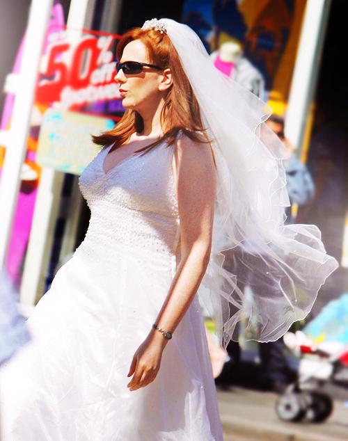 Catherine Tate (The Runaway Bride)