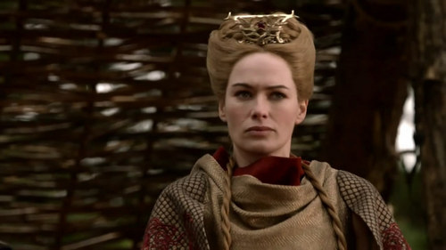 House Lannister wolpeyper possibly with a surcoat and a tabard entitled Cersei Lannister