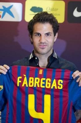 Cesc Fabregas  on Cesc Fabregas The New  4 Of Bar  A    Fc Barcelona Photo  24567988