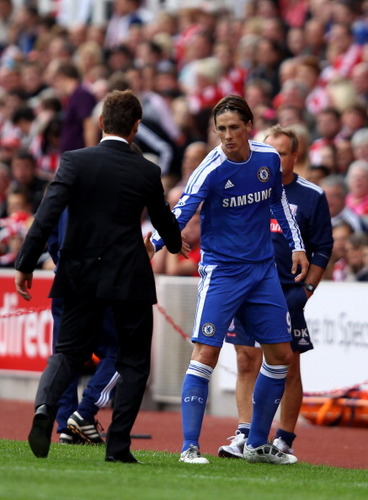 Chelsea x Stoke City - fernando-torres Photo
