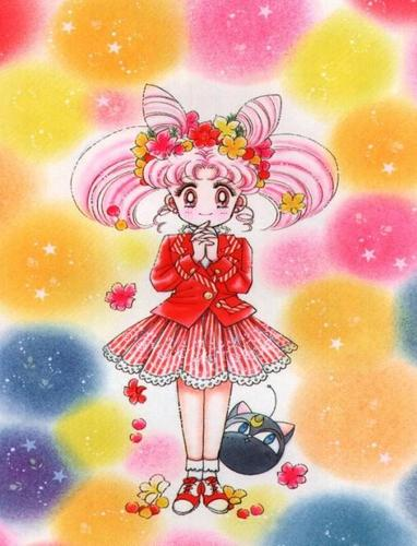 Sailor Mini moon (Rini) Hintergrund entitled Chibiusa