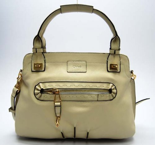 Chloe Calfskin Margaret Small Purses Beige 29226  - handbags Photo