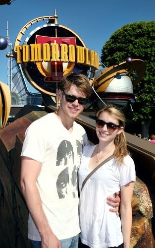 Chord Overstreet Disneyland Lovin' with Emma Roberts