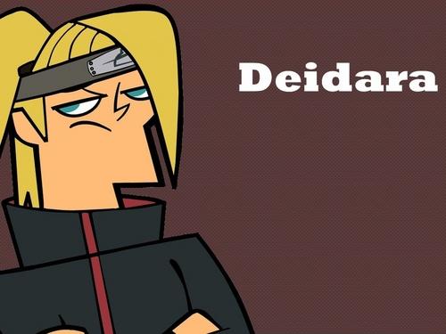 Deidara in Total Drama Acton