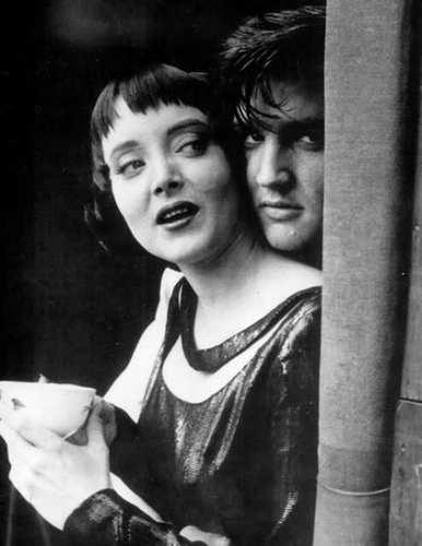 Elvis and Morticia
