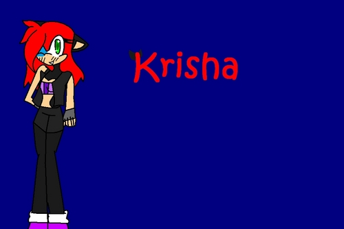 For Krisha (I think it's oddd -3-)