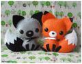 Fox Plushes
