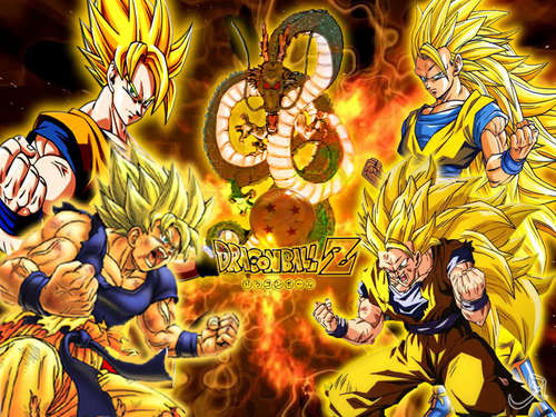 dragon ball z wallpaper containing anime titled goku