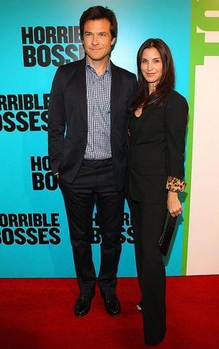 HB premiere in Australia- Jason Bateman and Amanda Anka