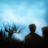 Harry and Hermione photo probably with a beech, a live oak, and a cloud called HHr ♥