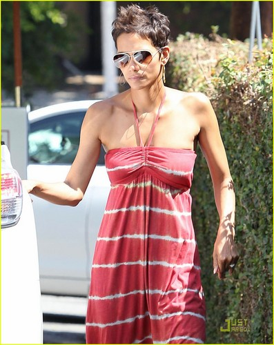 Halle Berry & Nahla Have Lunch with Olivier Martinez's Father!