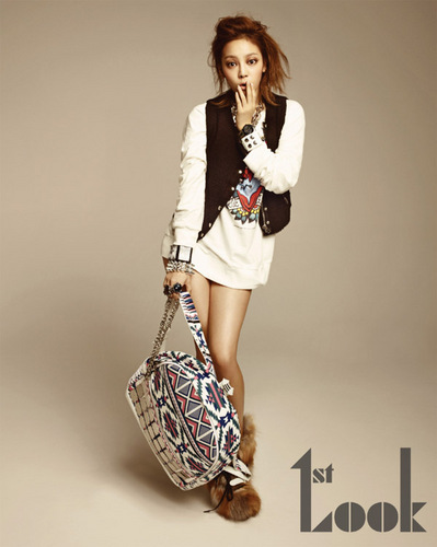 Hara for 1st look