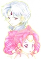 Helios and Chibiusa - sailor-mini-moon-rini fan art