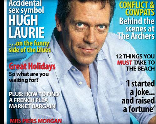 Hugh Laurie -Ladys magazine August 2011