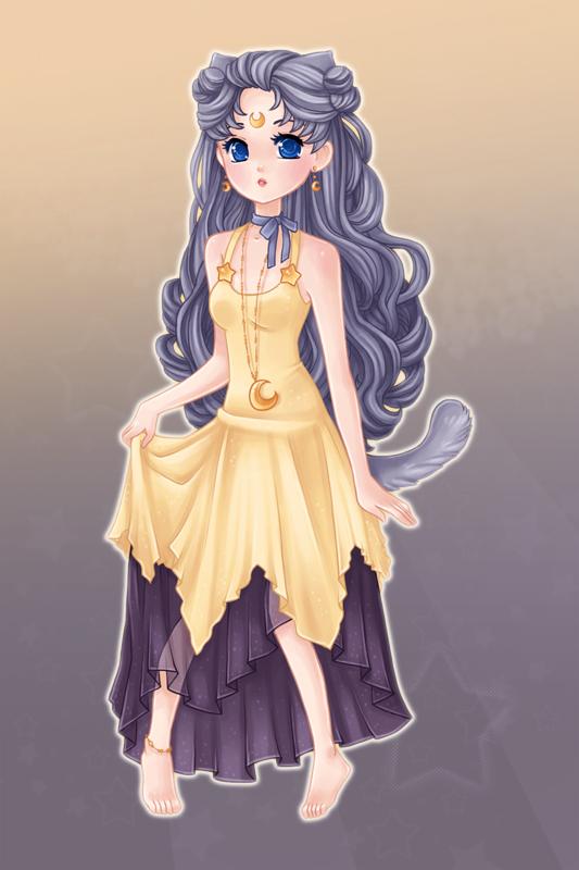 Human Luna Luna Artemis And Diana Fan Art 24556209 Fanpop