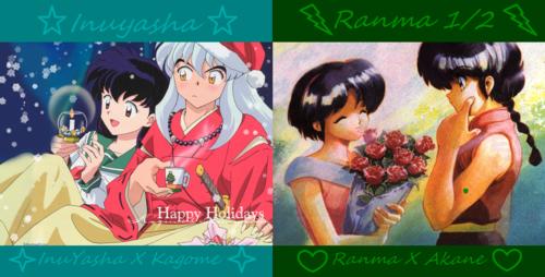 InuYasha and Ranma 1/2