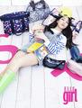 Jiyoung for Elle girl 2011