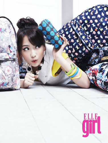 Jiyoung for Elle girl 2011