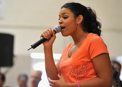 "Jordin Sparks: WWE & The Creative Coalition's Rally To Support The ""be a Star"" Anti-Bullying Allianc"