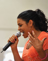 "Jordin Sparks: WWE & The Creative Coalition's Rally To Support The ""be a Star"" Anti-Bullying Allianc - jordin-sparks photo"