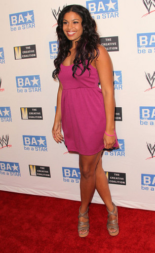 """Jordin Sparks: wwe & and The Creative Coalition's """"be a STAR"""" SummerSlam Kickoff Party - Arrivals"""