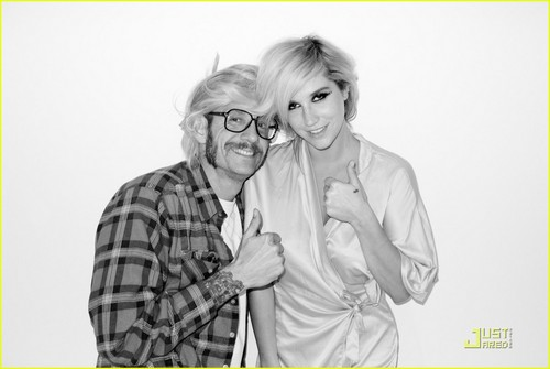 K$ & Terry Richardson