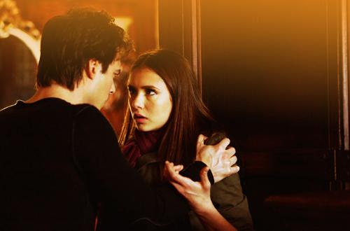 Katherine and Damon